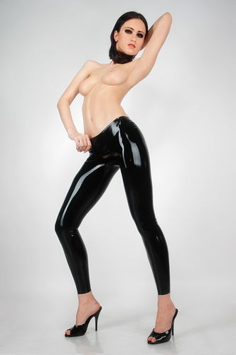 Rubber Leggings